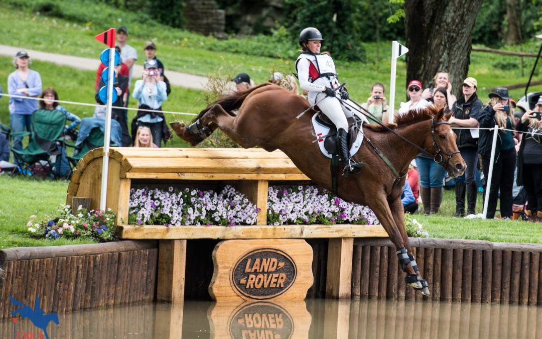 JESSICA PHOENIX & BOGUE SOUND TOP CANADIAN PAIR AT LAND ROVER KENTUCKY THREE DAY EVENT