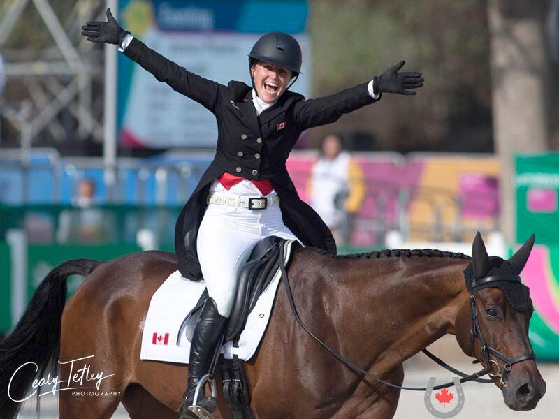 Jessica Phoenix & Pavarotti ride into Canadian Equestrian History